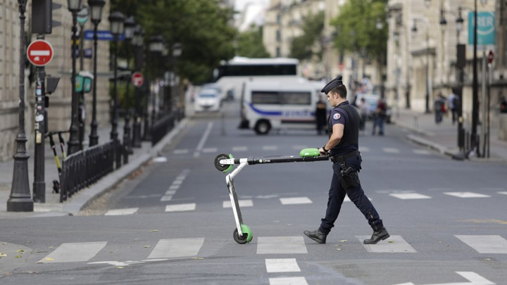 Self-Driving Scooters Are Coming