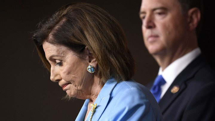 Speaker Nancy Pelosi and House Intelligence Chairman Adam Schiff are leading the congressional impeachment fight.