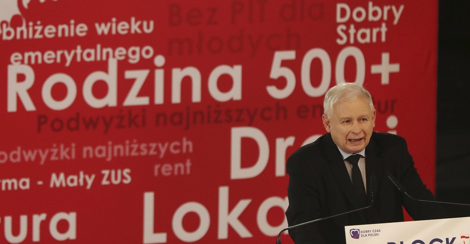 The Poland Model—Promoting 'Family Values' With Cash Handouts
