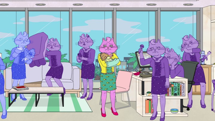 Image result for bojack horseman season 6 princess carolyn