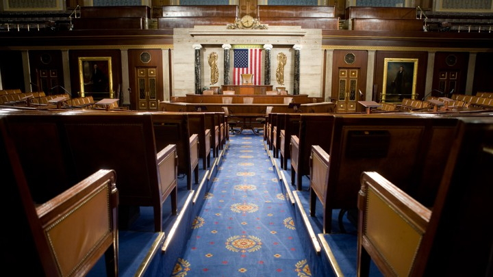 The U.S. House of Representatives chamber