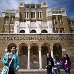 A photo of Little Rock Central High School