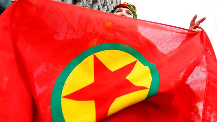 PKK flag