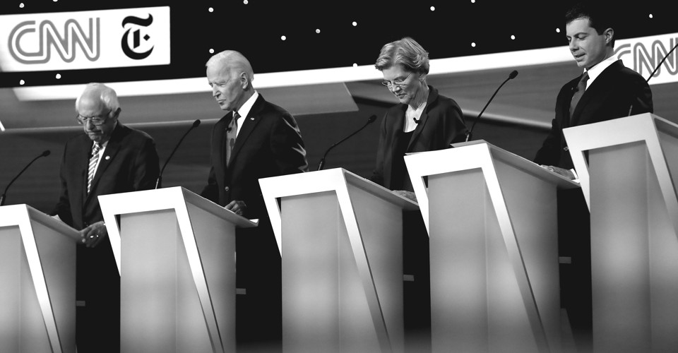 The Make-Believe World of the Democratic Debates