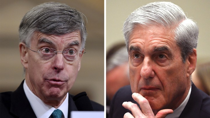 Former Ukraine Ambassador William Taylor and former Special Counsel Robert Mueller