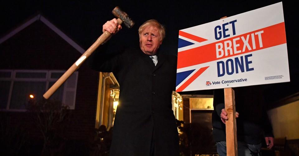 It's Boris Johnson's Britain, Now