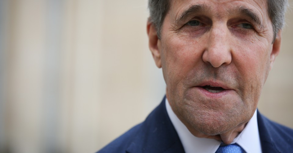 John Kerry's New Bipartisan, Star-Studded 'War' on Climate Change