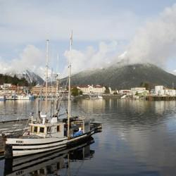 The Sitka Channel, on Alaska's southeastern coast