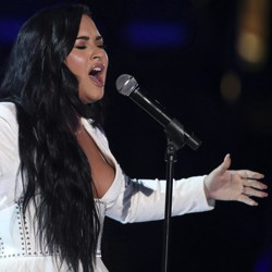 Demi Lovato at the Grammys in 2020.