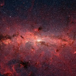 The Spitzer space telescope's infrared view of the Milky Way