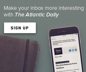 Sign Up for The Atlantic