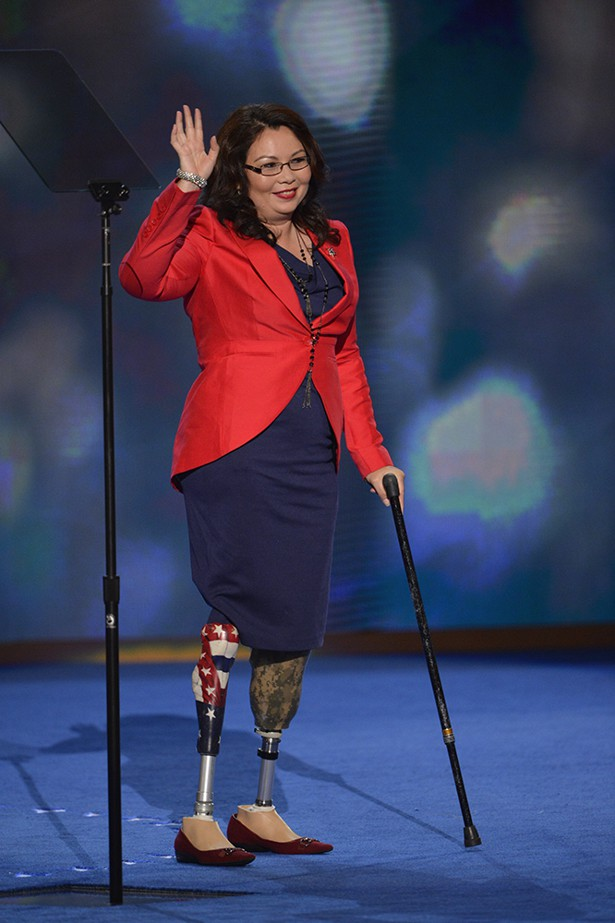 Tammy Duckworth Speaks To Delegates At The Democratic National Convention In Charlotte Nc National Journal