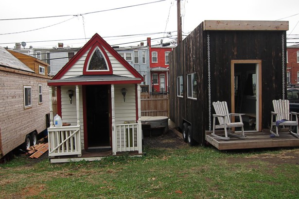 A Tiny House Grows in Washington DC The Atlantic