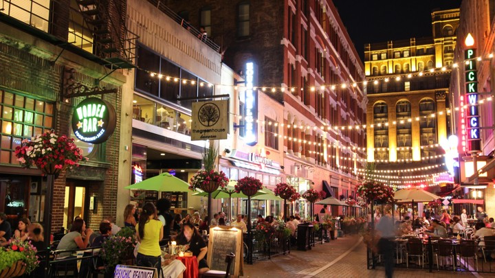 Cleveland S Trendy New East 4th Neighborhood Which A Decade Ago Was Largely Crime Ridden And Dotted With Vacant Buildings National Journal