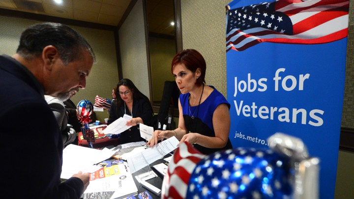 Training Gains Toehold For >> Paying Veterans To Give Back The Atlantic