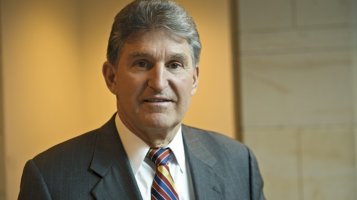 Sen  Joe Manchin Is 'Leaving All His Options Open for 2016