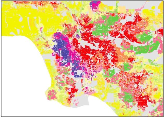 Are Los Angeles Neighborhoods Less Segregated The Atlantic