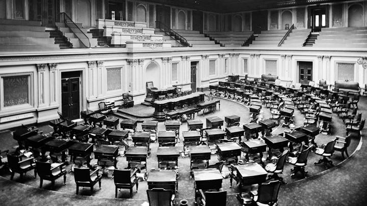 How Senators Pick Their Seats Power Friends And Proximity
