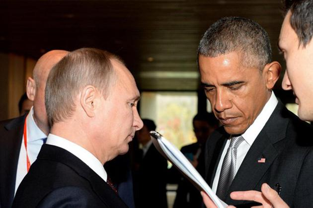 Obama And Putin S Complicated Relationship In Photos The Atlantic