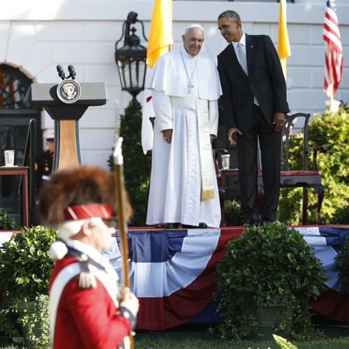 Pope Francis's Very Political Speech Touches Religious Liberty
