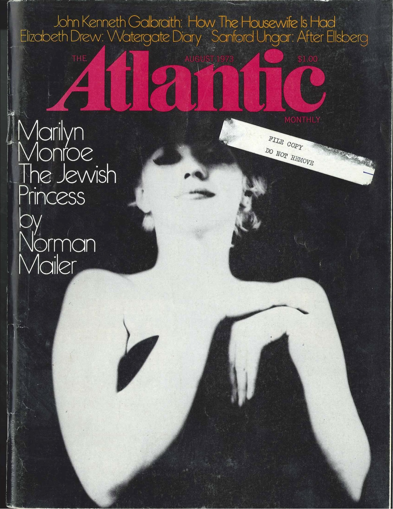 the anniversary of marilyn monroes name change the atlantic