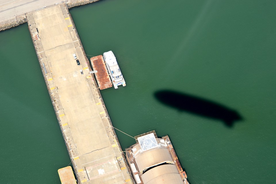 America by Air: Shadows From the Sea