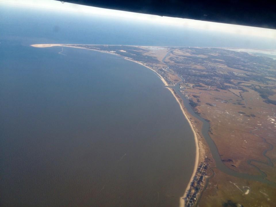 America by Air: Delaware's Cape