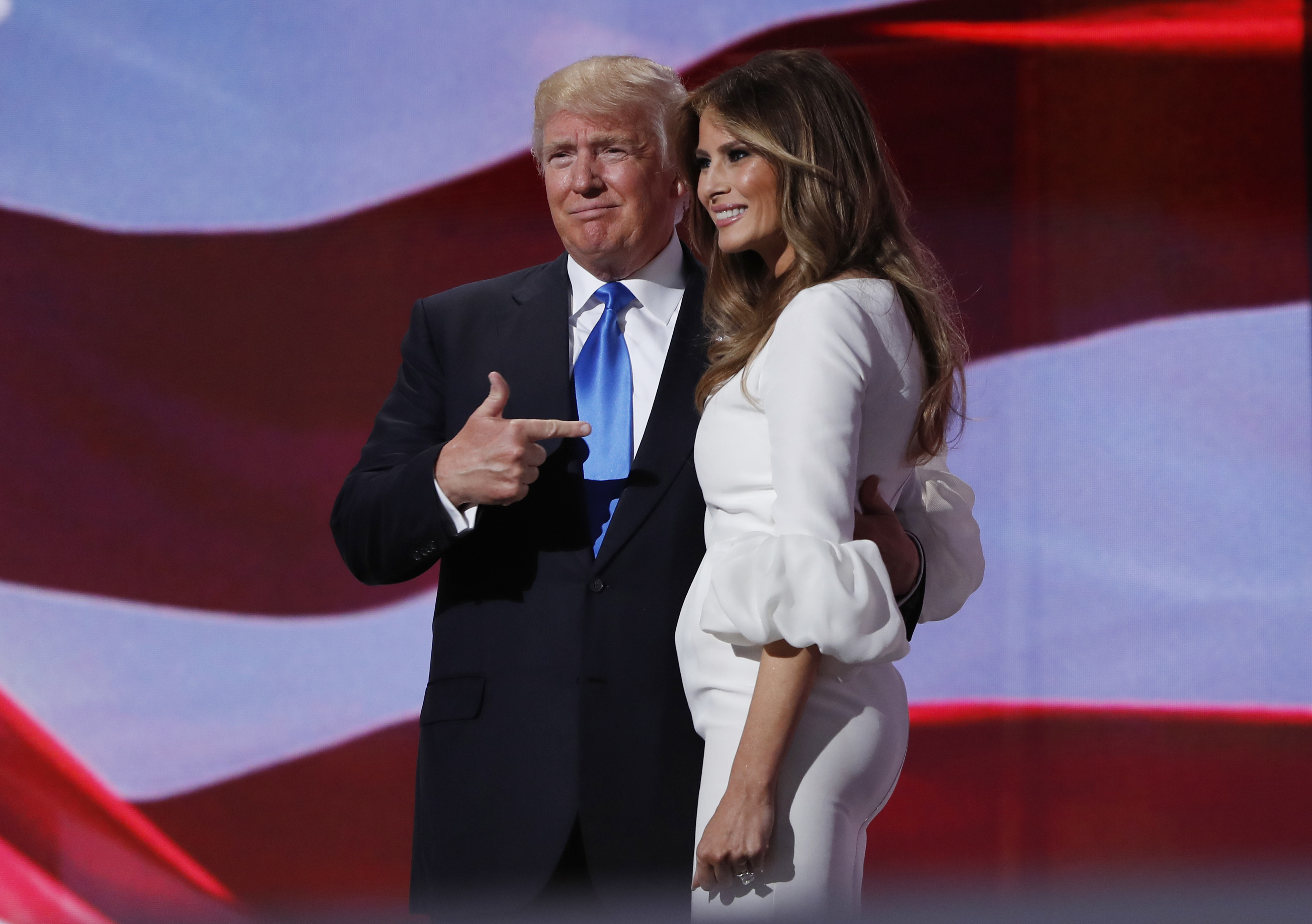 d39a9523f Trump Time Capsule #45: Why Melania's Convention Speech Matters - The  Atlantic