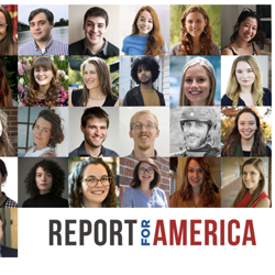The 2019 journalists for Report for America