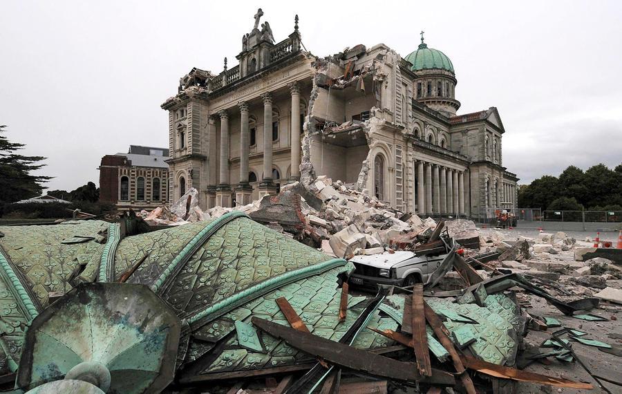 Christchurch New Zealand Twitter: Earthquake In New Zealand