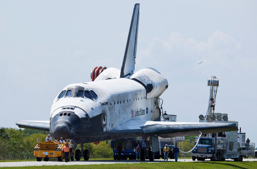 Space Shuttle Discovery's Final Launch - The Atlantic
