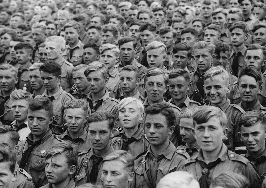 Image result for young men entering world war II