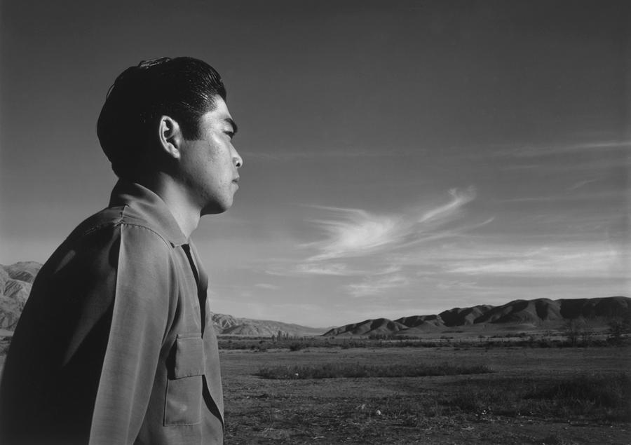 977584d5e Tom Kobayashi stands in the south fields of the Manzanar Relocation Center