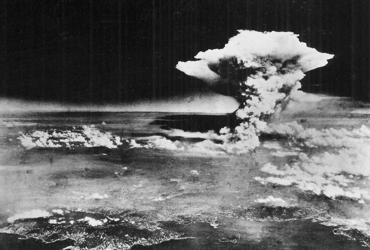 August 6 1945 Hiroshima Japan.