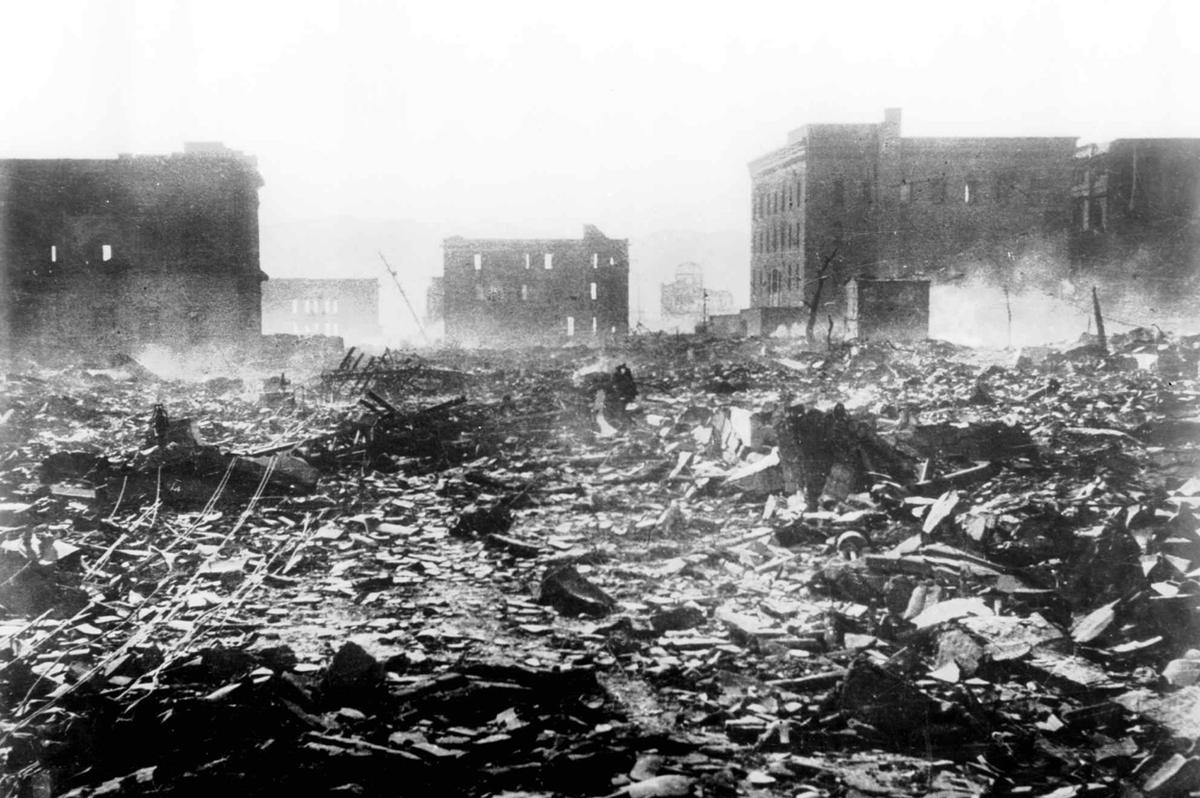 August 7 1945 Hiroshima Japan.