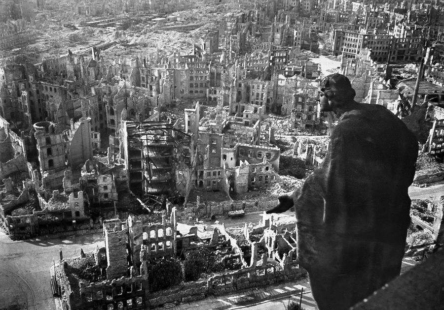 Image result for destruction of  germany 1945