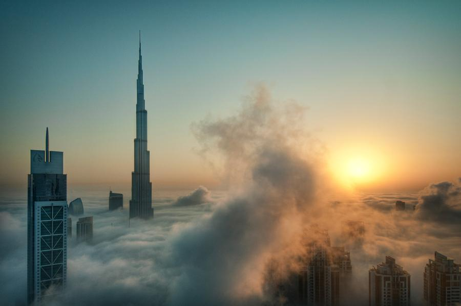Every Year Around The Month Of October Dubai Experiences Heavy Fog Due To Still High Humidity And Falling Temperatures With All New Rise
