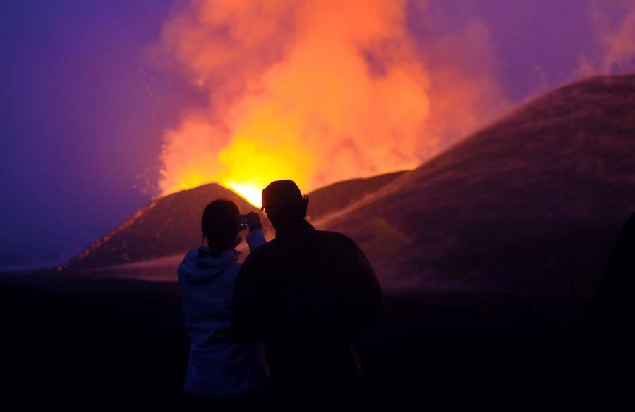 The Year in Volcanic Activity - The Atlantic