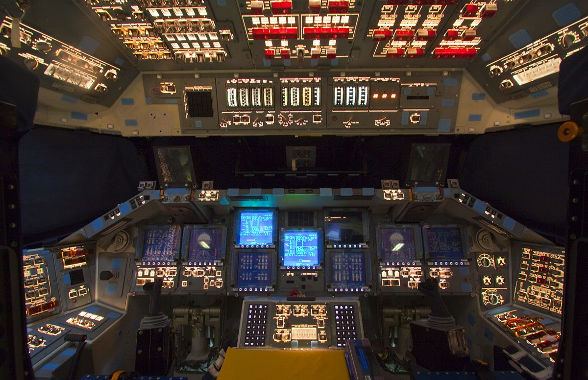 space shuttle cockpit displays - photo #19