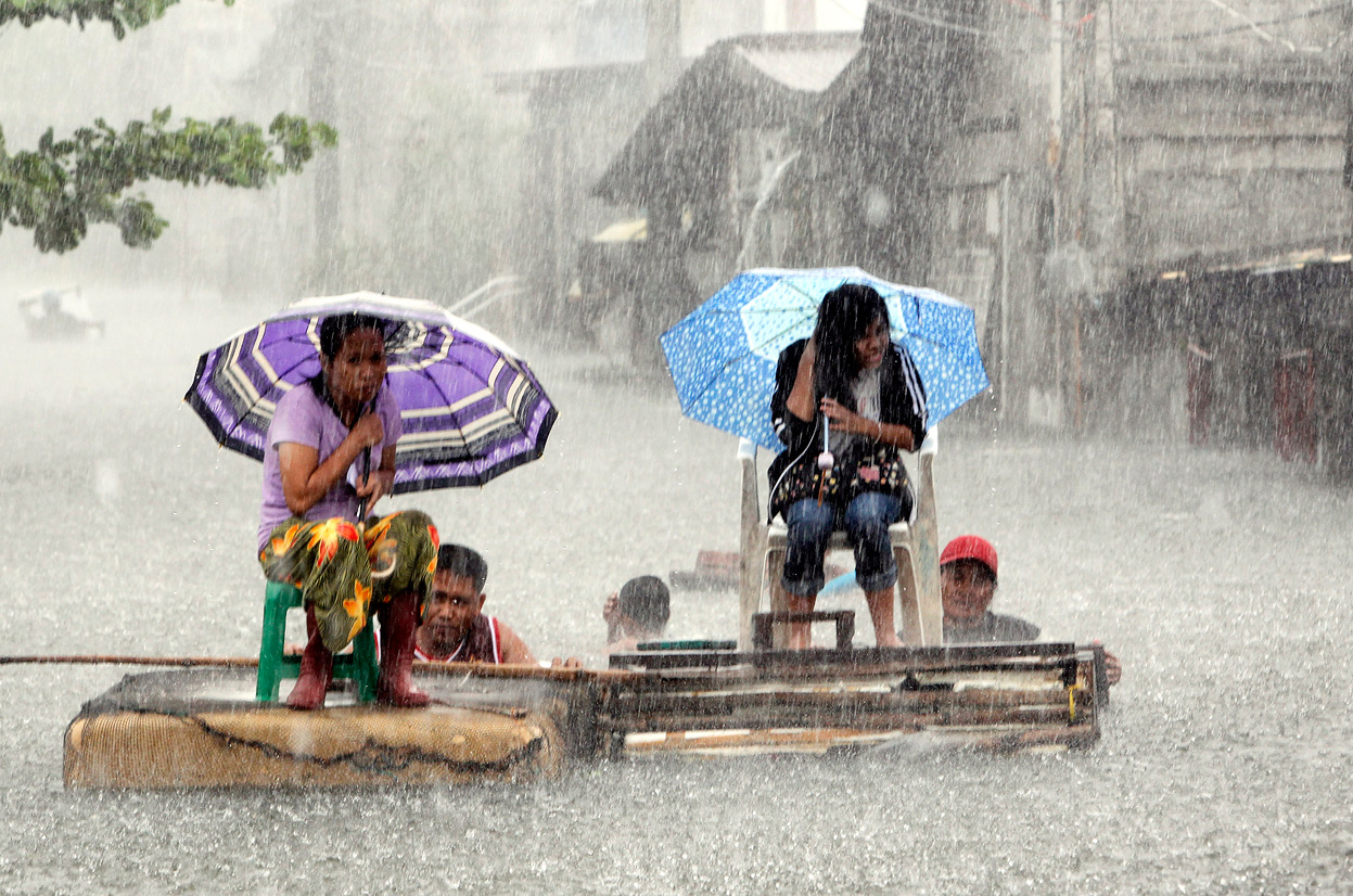 Monsoon Rain Floods Manila - The Atlantic