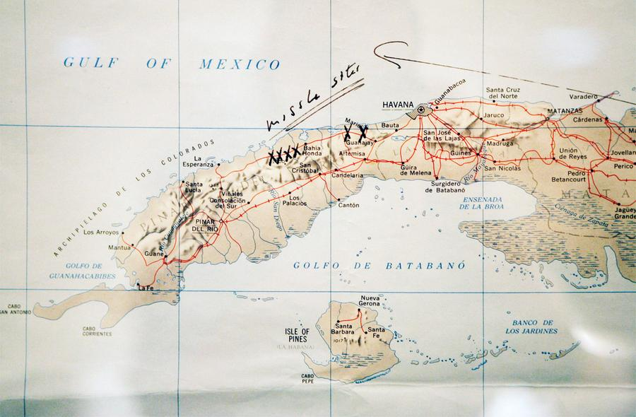 Years Ago The Cuban Missile Crisis The Atlantic - Map of cuba and us