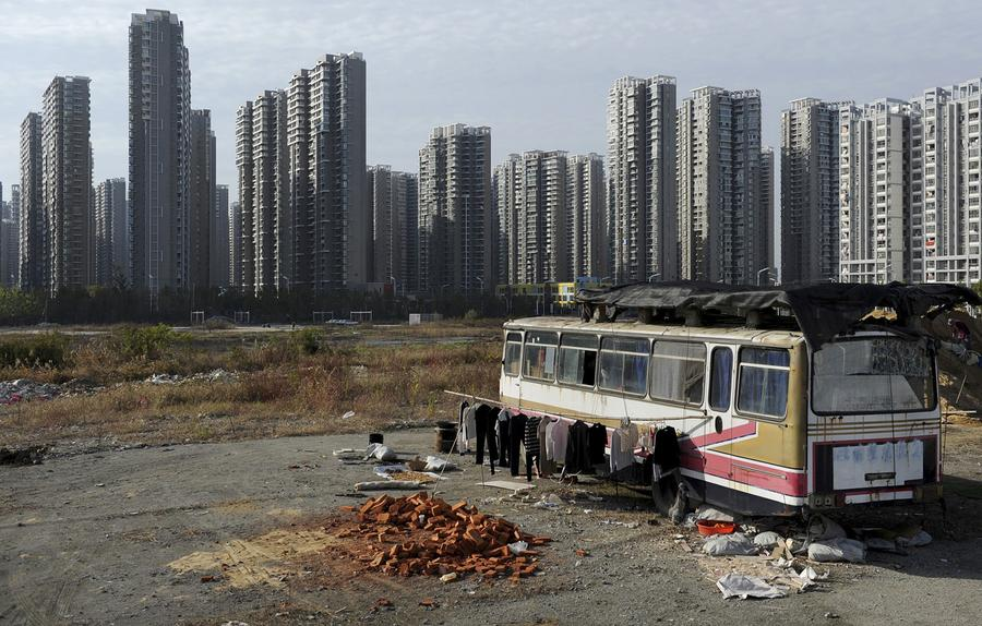 rich and poor in china