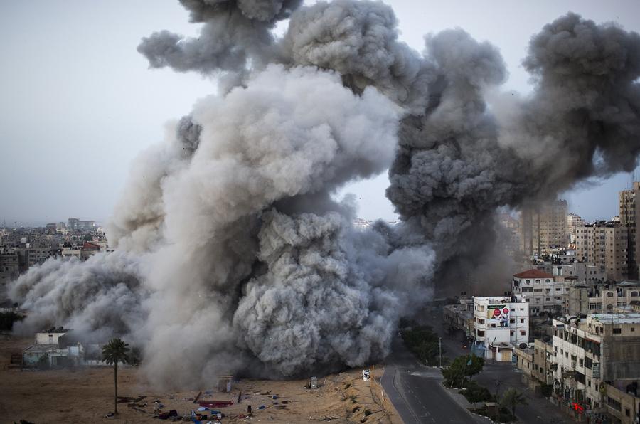 Image result for gaza airstrike attacks