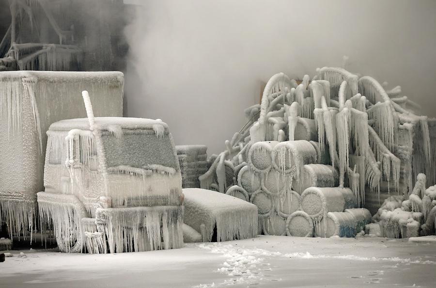 Chicago's Freezing Fire - The Atlantic
