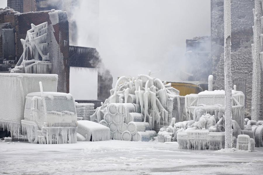 Chicago S Freezing Fire The Atlantic