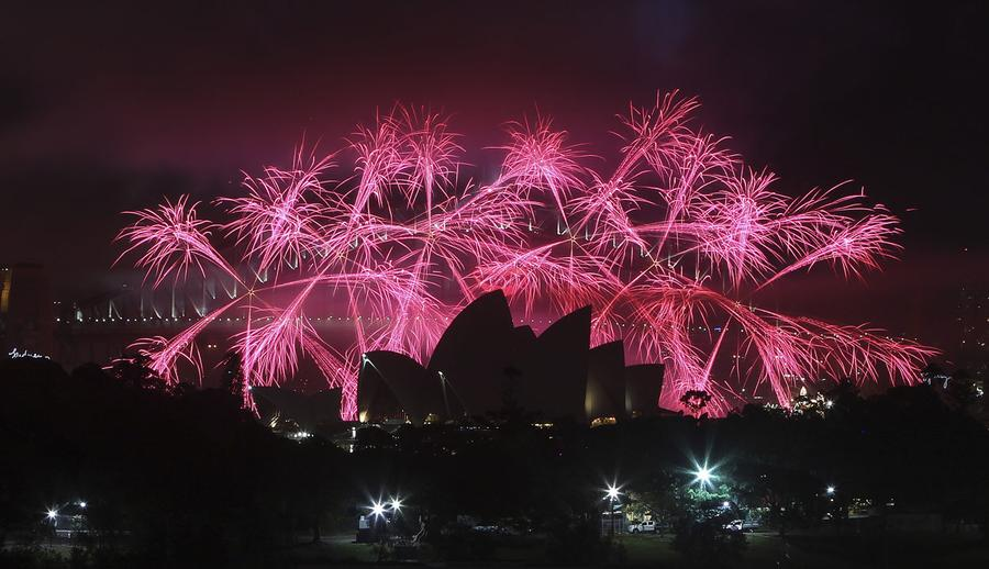 Where is the biggest New Year celebration in the world?