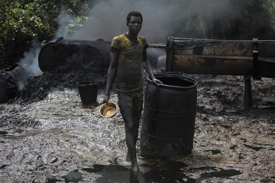 Nigeria's Illegal Oil Refineries - The Atlantic