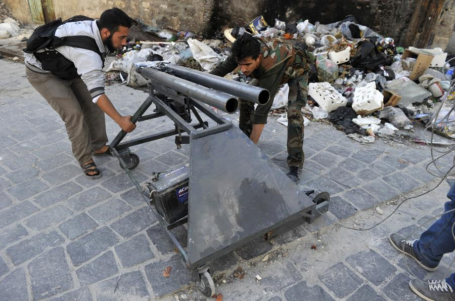 DIY Weapons of the Syrian Rebels - The Atlantic