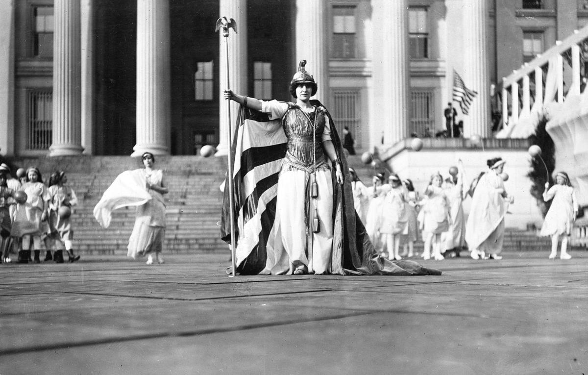 the women s suffrage parade the atlantic
