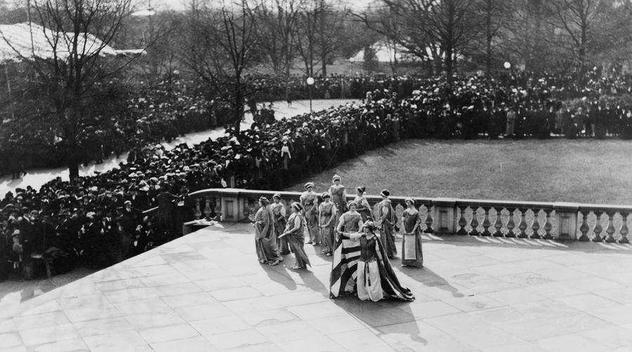 The 1913 Womens Suffrage Parade The Atlantic